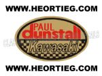 Paul Dunstall Kawasaki Tank and Fairing Transfer Decal DDUN7-5
